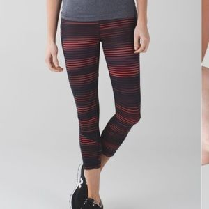 lululemon Pace Rival Crop * Full-On Luxtreme